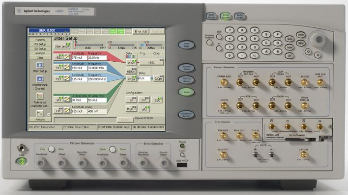 PC芯片组上的高速总线和测试需求