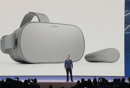 小米�合Oculus�l布VR一�w�COculus Go:中��版夏季�_售