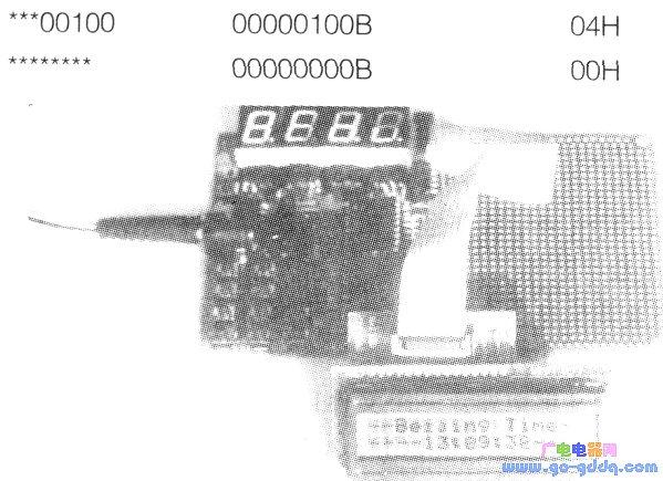 让液晶显示屏显示自制图形的源程序