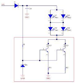 中央高位刹车灯(CHMSL)是如何考虑散热的?