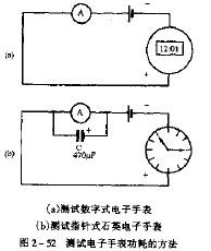如何巧测电子手表功耗电流