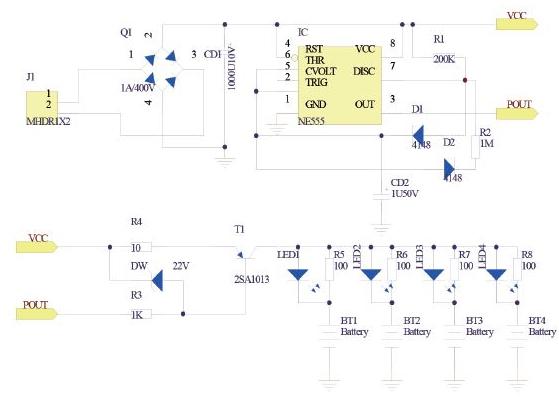 电池充电器电路PCB设计方案