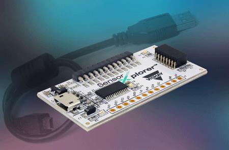 Vishay发布新的SensorXplorerTM初学者套件