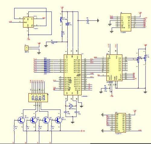 数字电压表简易检修程序方案