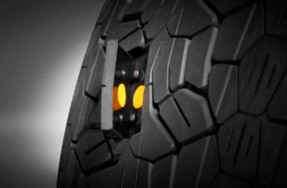 重塑车轮:智能轮胎体现物联网带来的真正抓地力