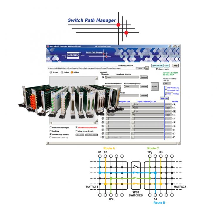 Pickering Interfaces发布了信号路径管理软件Switch Path Manager的更新轻量版本