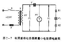 如何利用电容器测量小电容器