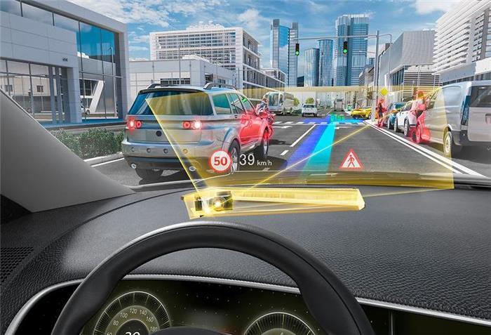大陆投资DigiLens 共同研发全息波导型抬头显示器