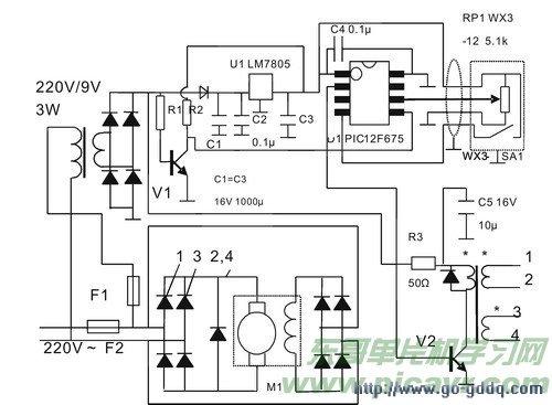 PIC12F675直流电机控制简介