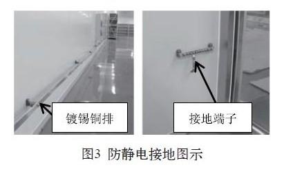 电子封装净化间的静电防护及监控(二)