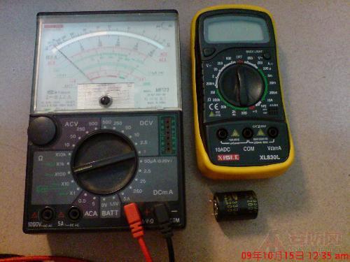 介绍2种简单易懂的万用表测试电容方法