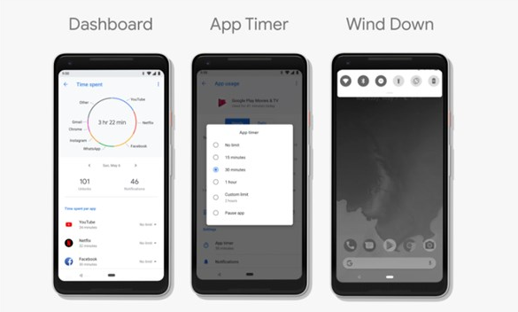 Android P四大全新功能,帮你摆脱智能手机依赖症
