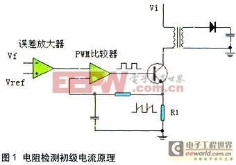 DC-DC转换器初级电流检测方法