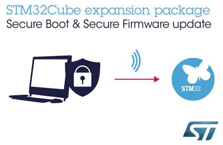 意法半导体推出STM32扩展软件,简化物联网终端安全功能部署