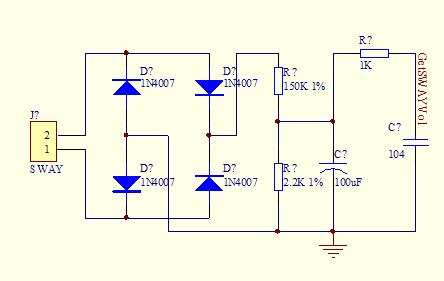 测试交流电压和电流