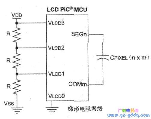 单片机与LCD接口驱动电流的技巧