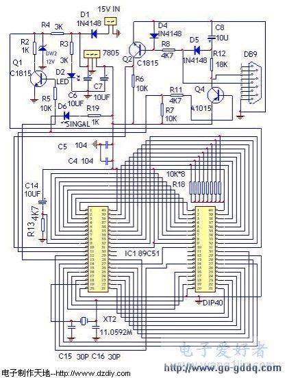 DIY属于自己的AT89C51编程器
