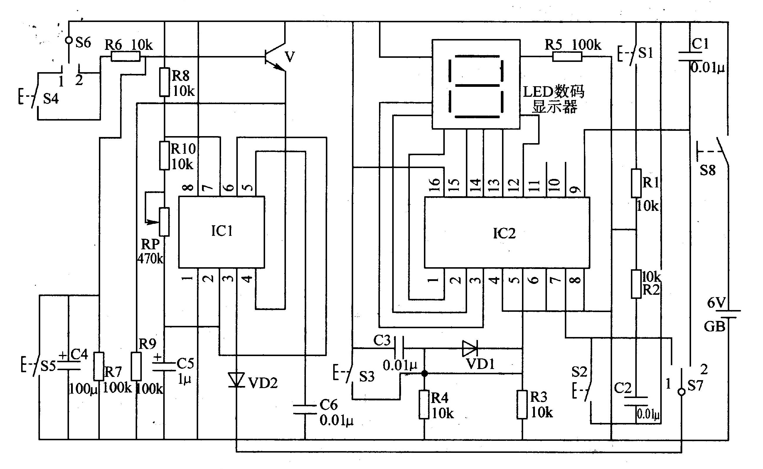 反应能力测试器(一)