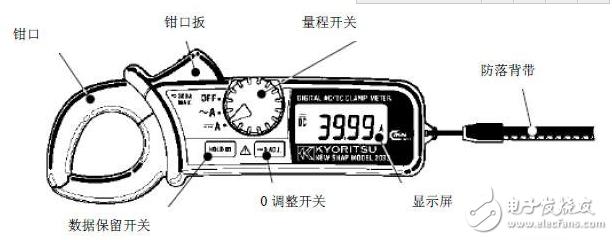 钳形表测电压使用方法_钳形表上的符号图解