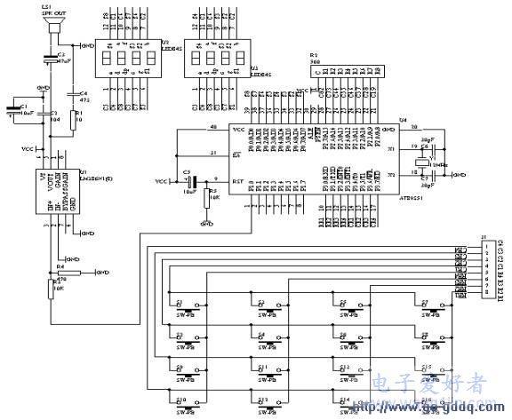 基于51的模拟计算器数字输入及显示