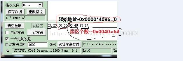 STM32 串口烧写 FLASH 外部字库 UCGUI显示 自我学习总结