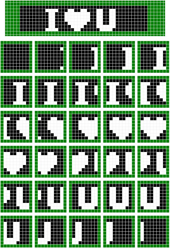 如何实现单片机LED点阵的横向移动?