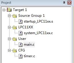 lpc1114通用定时器-定时功能