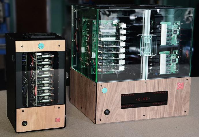 32个树莓派3B和一个UDOO X86组成的数据中心——Circumference数据中心盒