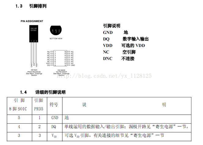 18B20温度传感器详解