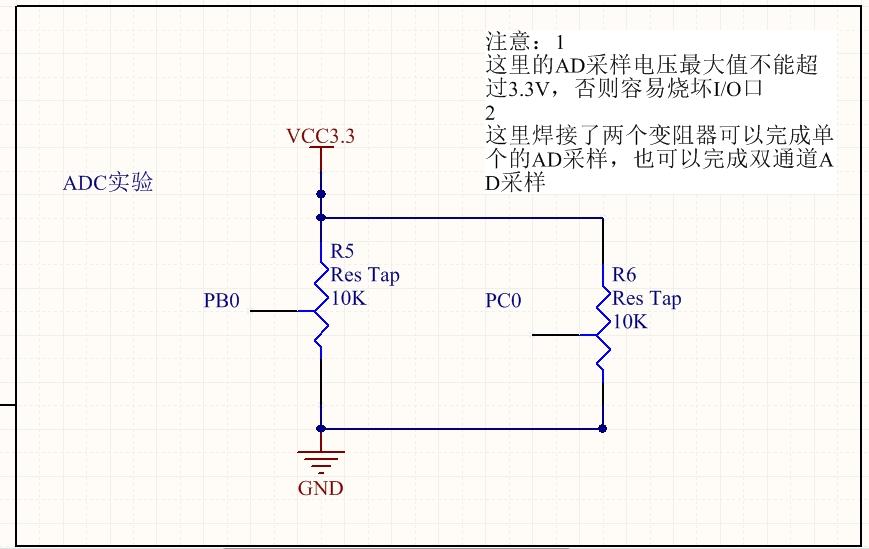 STM32的ADC采样与多通道ADC采样