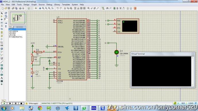 ARM7单片机(学习ing)—(三)、UART—03