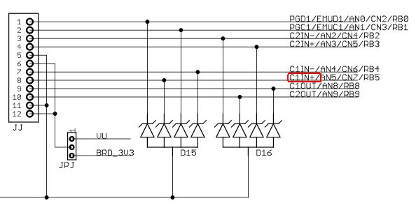 武林教你学PIC32(十二)比较器