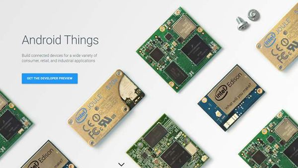 NXP i.MX7D与AndroidThings系列之一:AndroidThings介绍