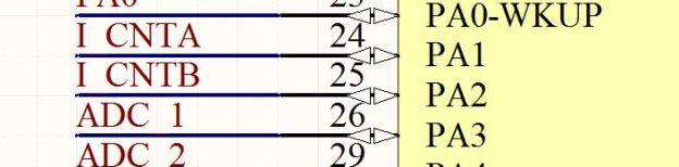 stm32对编码器计数