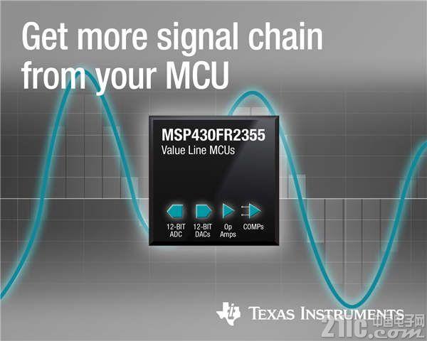 以高集成度为核心:新型MSP430 微控制器 为感测应用提供可配置的信号链元件