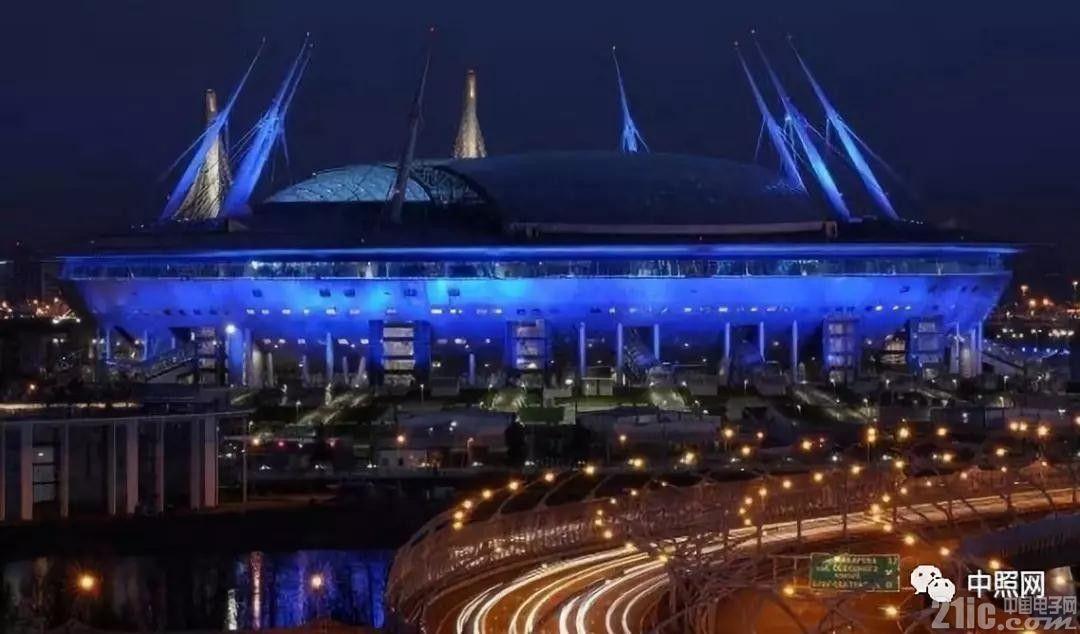 世界杯开幕前夕 欣赏下12座球场夜景