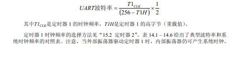 C8051f300_UART0串口发送初始化