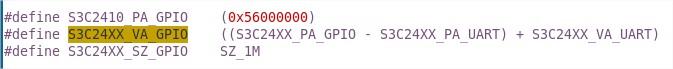 s3c2410_gpio_cfgpin()函数