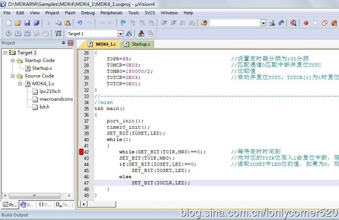 ARM7单片机(学习ing)—(四)、定时器—02
