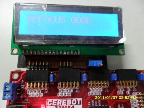 武林教你学PIC32(十四)并口操作PMP点亮液晶LCD