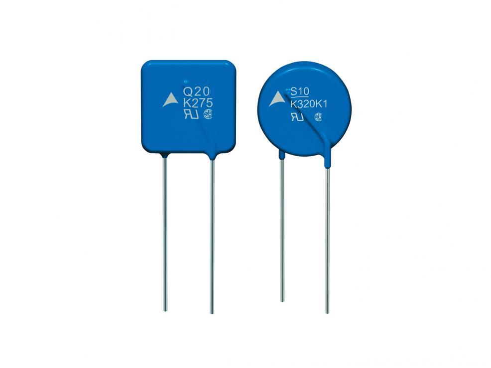 过电压保护:工作温度更高的压敏电阻