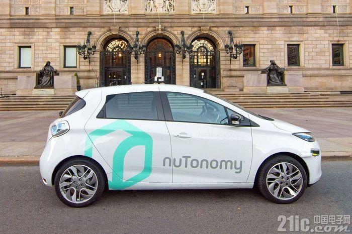 NuTonomy获得在波士顿测试自动驾驶汽车的许可