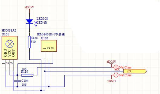 stm32f103读取红外接收HS0038A2