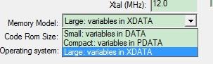 用proteus仿真C51时用到xdata时的问题