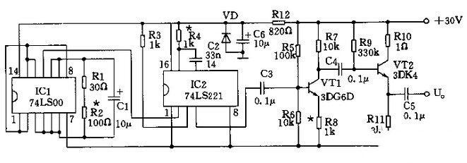 电路设计秘籍:信号发生器的脉冲信号发生器电路