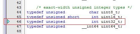 ARM单片机的头文件如何用结构体定义地址
