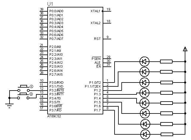 AT89s52单片机的掉电测试