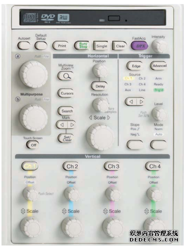 示波器的系统和控制功能