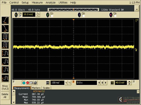 用示波器测量电源噪声的方法(1)