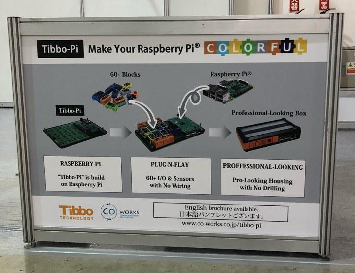 Tibbo-Pi:适用于树莓派的Wirefree模块化物联网原型开发平台
